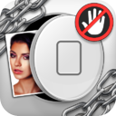 Don't Touch My Pics FREE: Password protect HD/HQ images mobile app icon